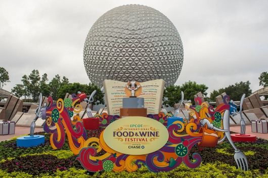 Celebrated for its inspired food-and-beverage marketplaces, high-energy concerts and premium dining events, the 46-day Epcot International Food & Wine Festival presented by Chase returns to Walt Disney World Resort in Lake Buena Vista, Fla. Sept. 27-Nov. 11, 2013. (Matt Stroshane, photographer)