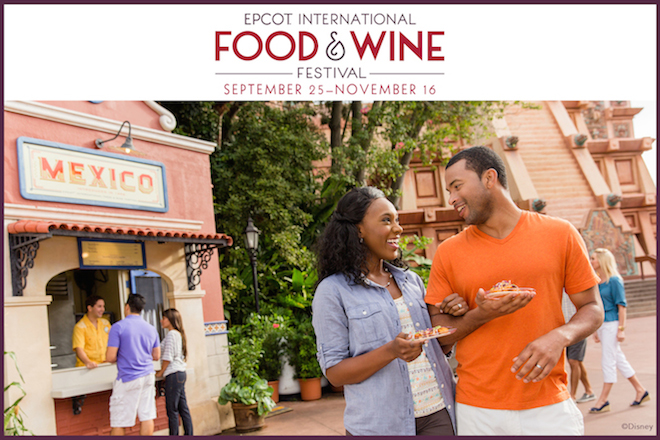 BOOK EPCOT INTERNATIONAL FOOD & WINE FESTIVAL PREMIUM EVENTSTODAY!
