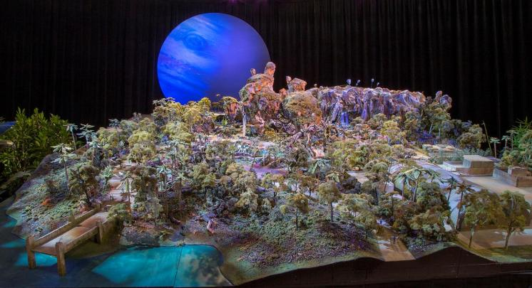 Avatar Land Model at D23 Expo picture provided by wdwmagic.com