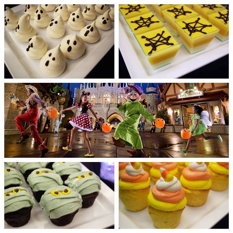 "NEW HAPPY HALLOWISHES PREMIUM DESSERT PACKAGE AT ""MICKEY'S NOT-SO-SCARY HALLOWEEN PARTY"""