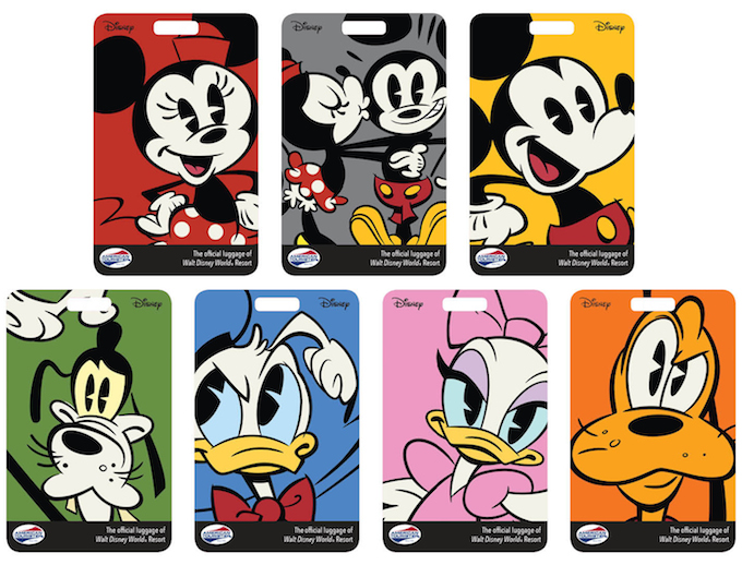 NEW WALT DISNEY TRAVEL COMPANY-FLORIDA LUGGAGE TAGS!!