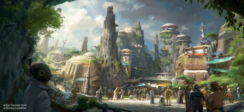 STAR WARS-THEMED LANDS COMING TO WALT DISNEY WORLD AND DISNEYLANDRESORTS