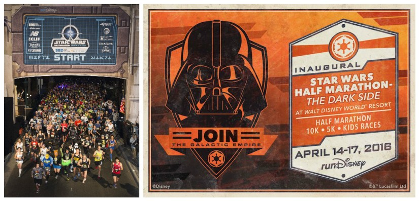 STAR WARS HALF MARATHON EVENT SPRINTING TOWARD WALT DISNEY WORLD RESORT IN 2016!