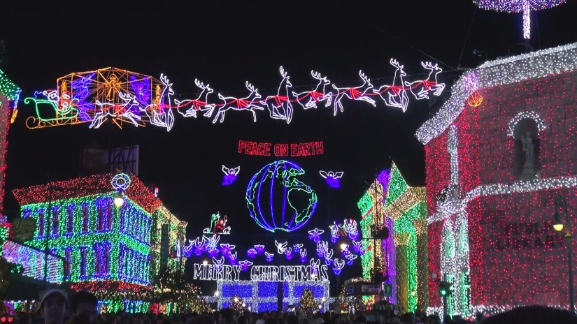 BOOK NOW! MERRY & BRIGHT DESSERT PARTY AND DINNER RECEPTION DURING THE OSBORNE FAMILY SPECTACLE OF DANCING LIGHTS