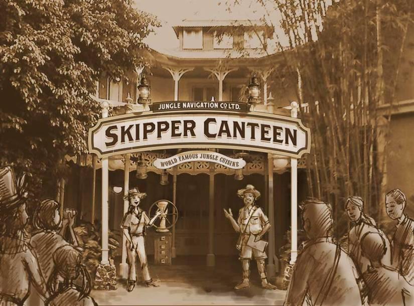 Jungle Skipper Canteen at Magic KingdomPark