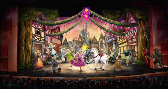 """""""Tangled: The Musical"""" Coming to Disney Magic thisFall!"""