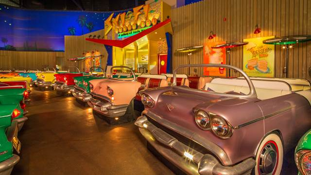 RESERVATIONS NOW AVAILABLE FOR BREAKFAST AT THE SCI-FI DINE-IN THEATER RESTAURANT AT WALT DISNEY WORLDRESORT
