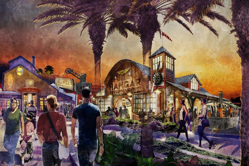 A Disney Christmas: Jock Lindsey's Hangar Bar & Star Wars LaunchBay!
