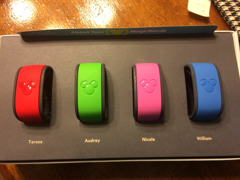 A Disney Christmas: They're Here! Our MagicBands are Here!