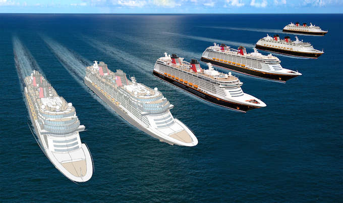 Disney Cruise Line Announces TWO NEW SHIPS!
